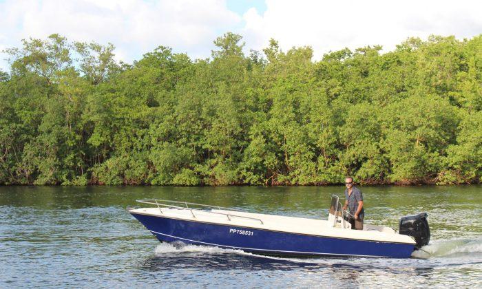 le bateau sur lequel je guide3