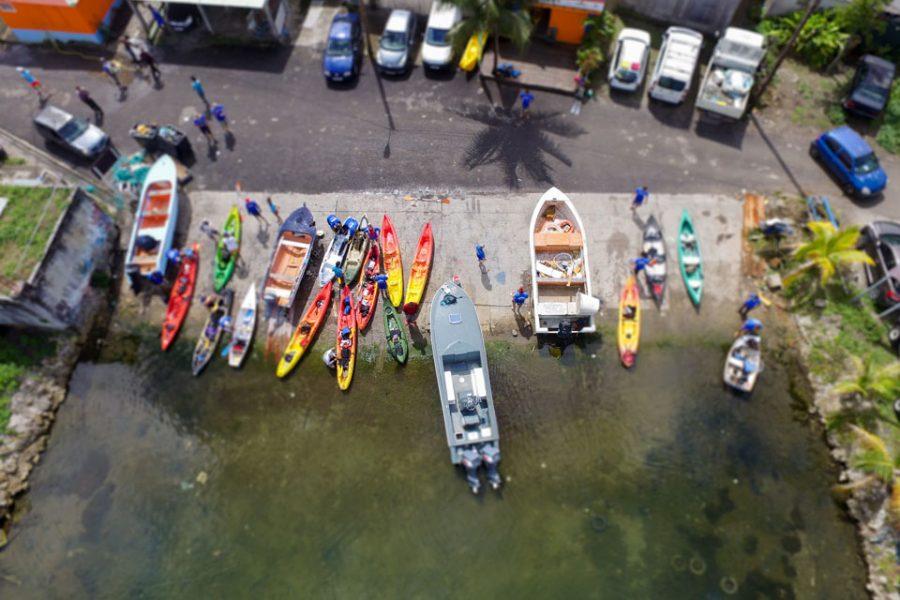 Premier Challenge Guadeloupe Pêche Passion 2016 – Mangrove de Vieux Bourg en Kayak