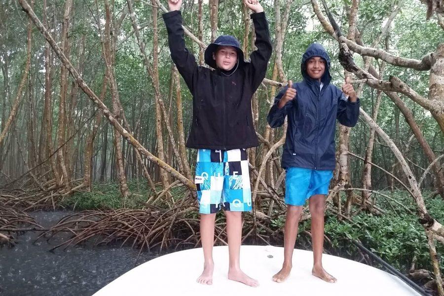 Mission tarpons sous la pluie!!!