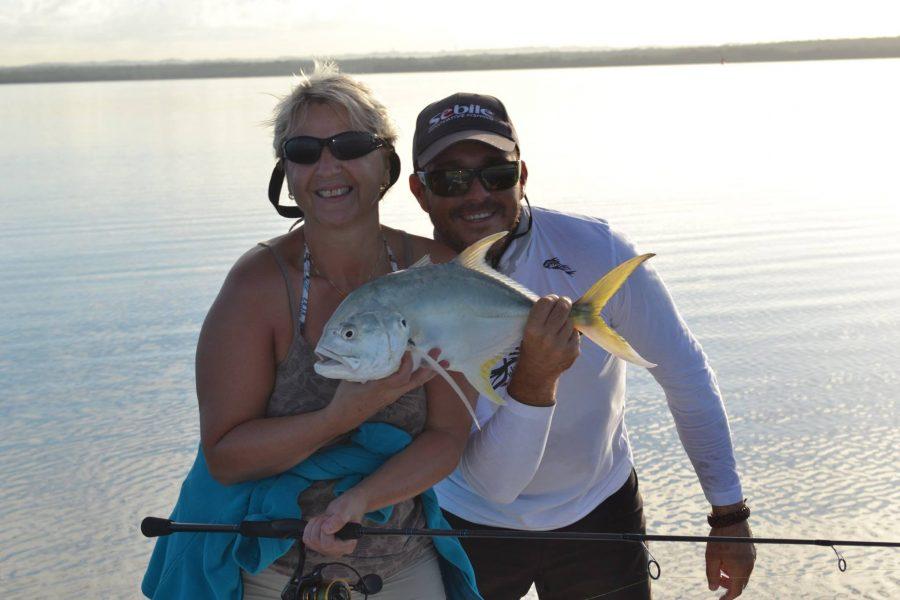 Résumé de pêche avec un couple du Chnord