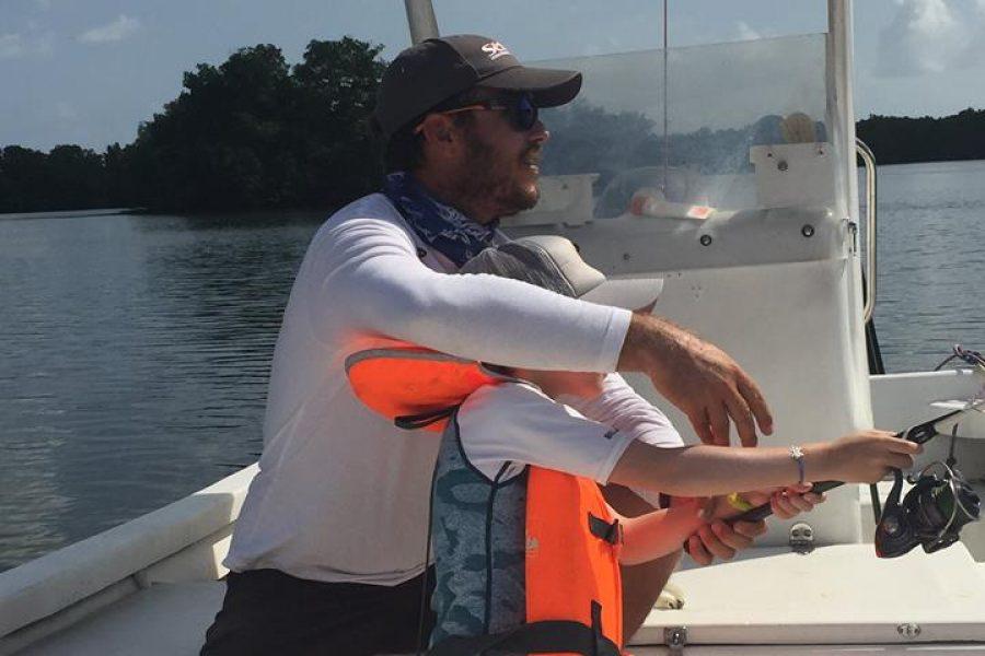 Du premier lancé au premier poisson !!