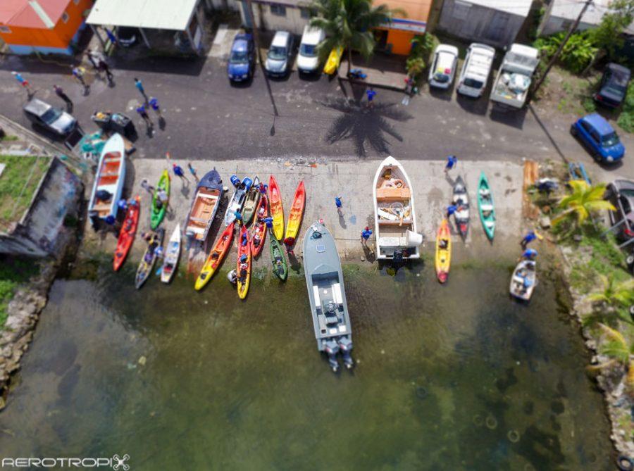 Premier Challenge pêche 2016 – Mangrove de Vieux Bourg en Kayak