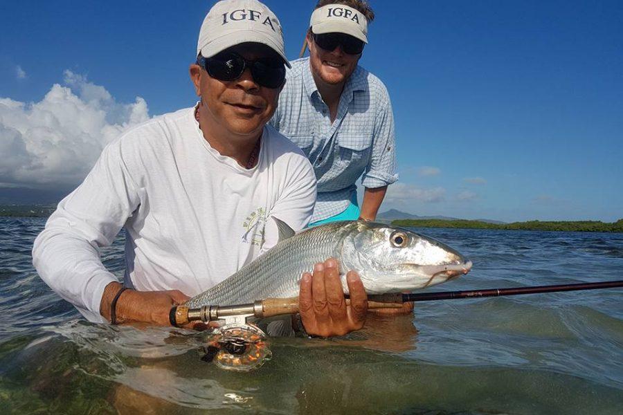 IGFA se met au Bonefish en Guadeloupe