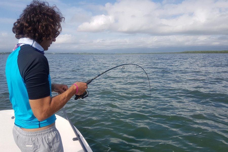 Joli Tarpon en pêche Light