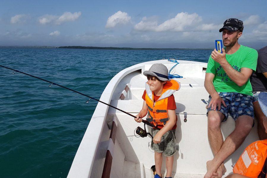 La pêche dès le plus jeune âge !