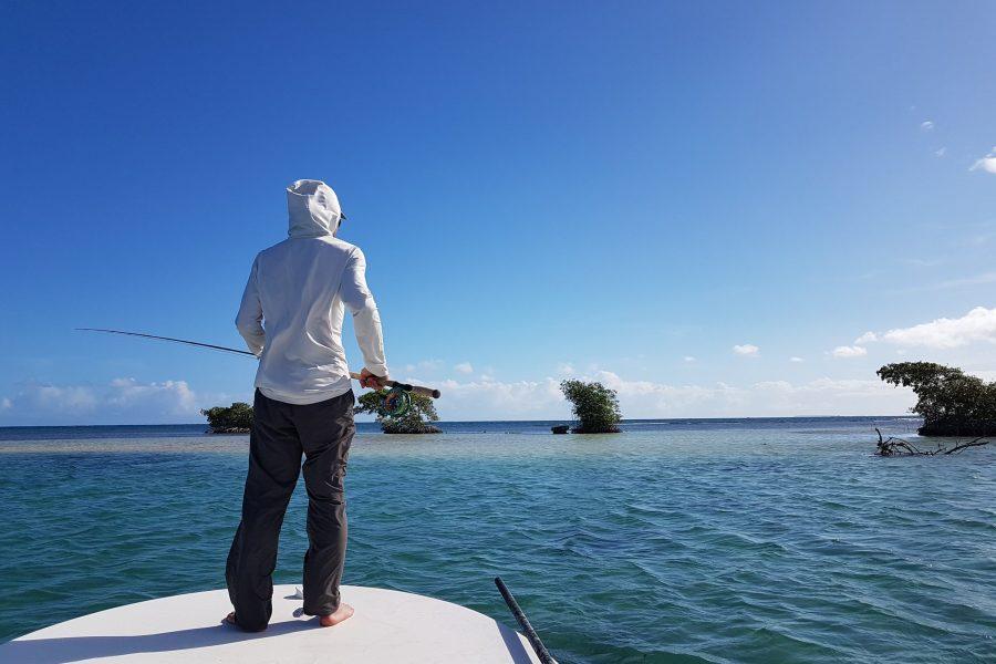 Partie de pêche entre Guides