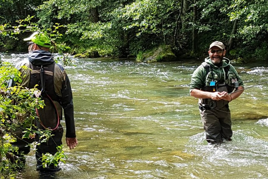 Pêche avec Pyrénées Pêche