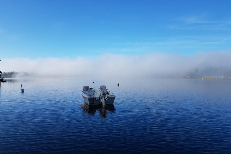 Retour en France et la pêche en eau douce