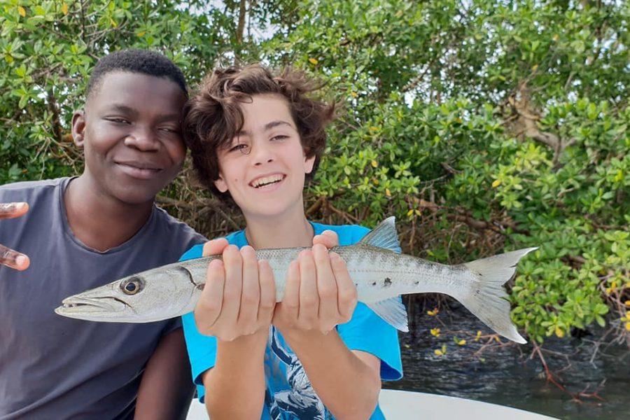 L'apprentissage de la pêche en Guadeloupe