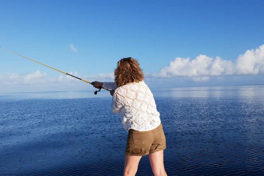 Une session pêche pour son anniversaire