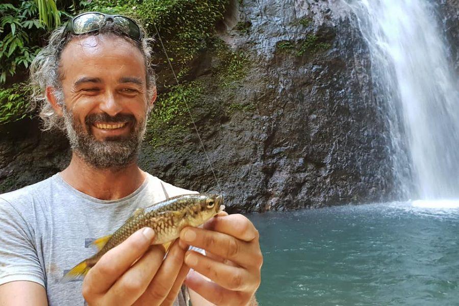 Guidage de pêche en eau douce en GUadeloupe