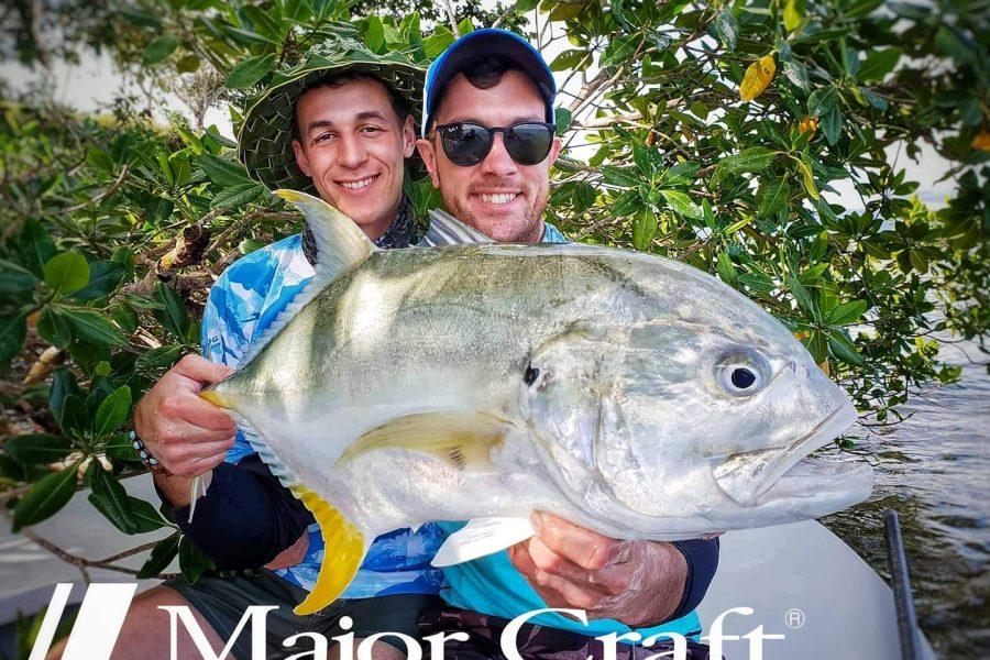 Deux italiens à la pêche en Guadeloupe