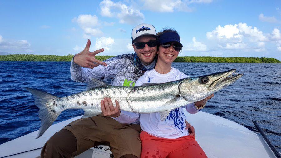 Pêche en couple