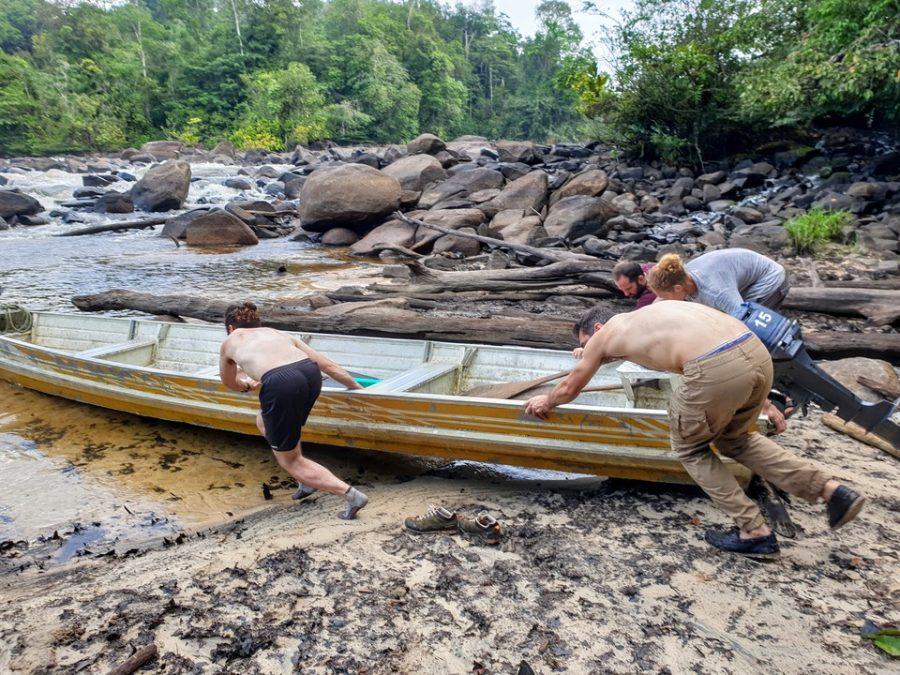 Pêche de l'aimara en Guyane avec Fishare
