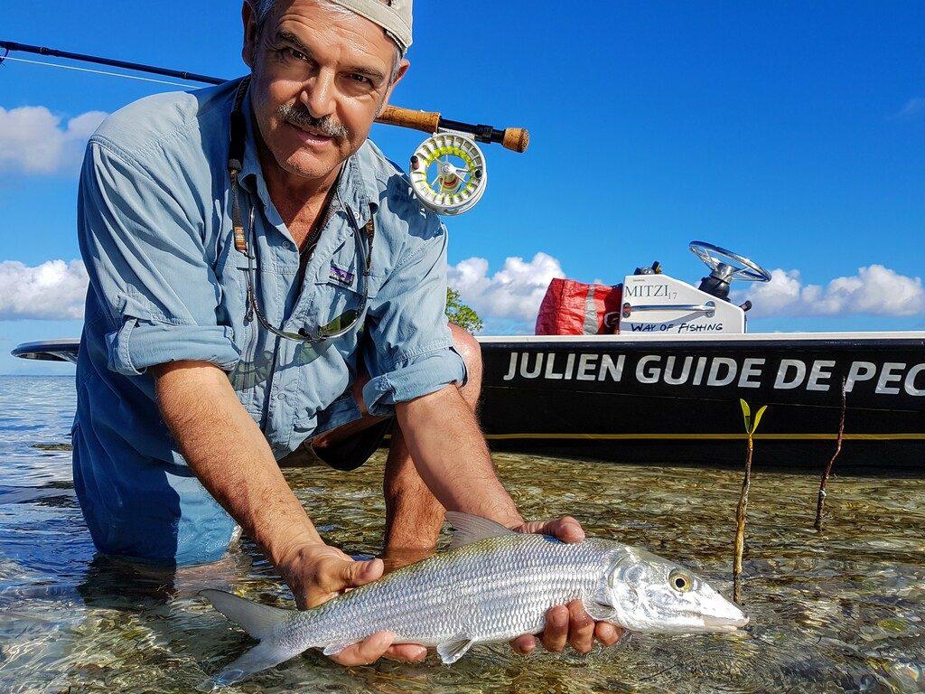 pêche à la mouche en Guadeloupe