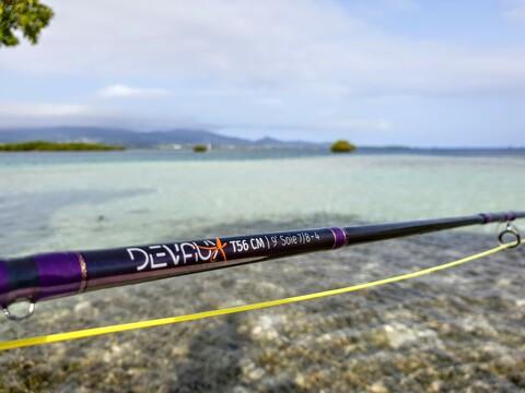 Devaux fly fishing rod