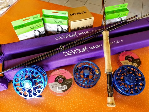 Devaux fly fishing tackle