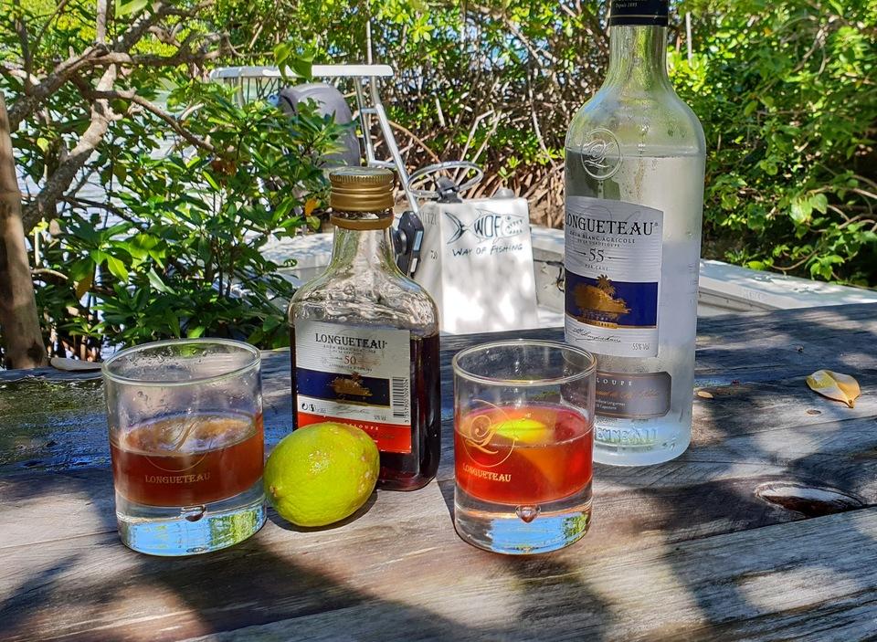 Enjoy a local rum