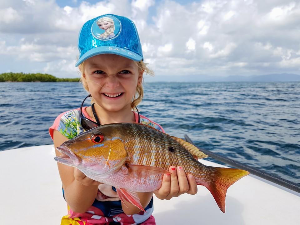 fishing child