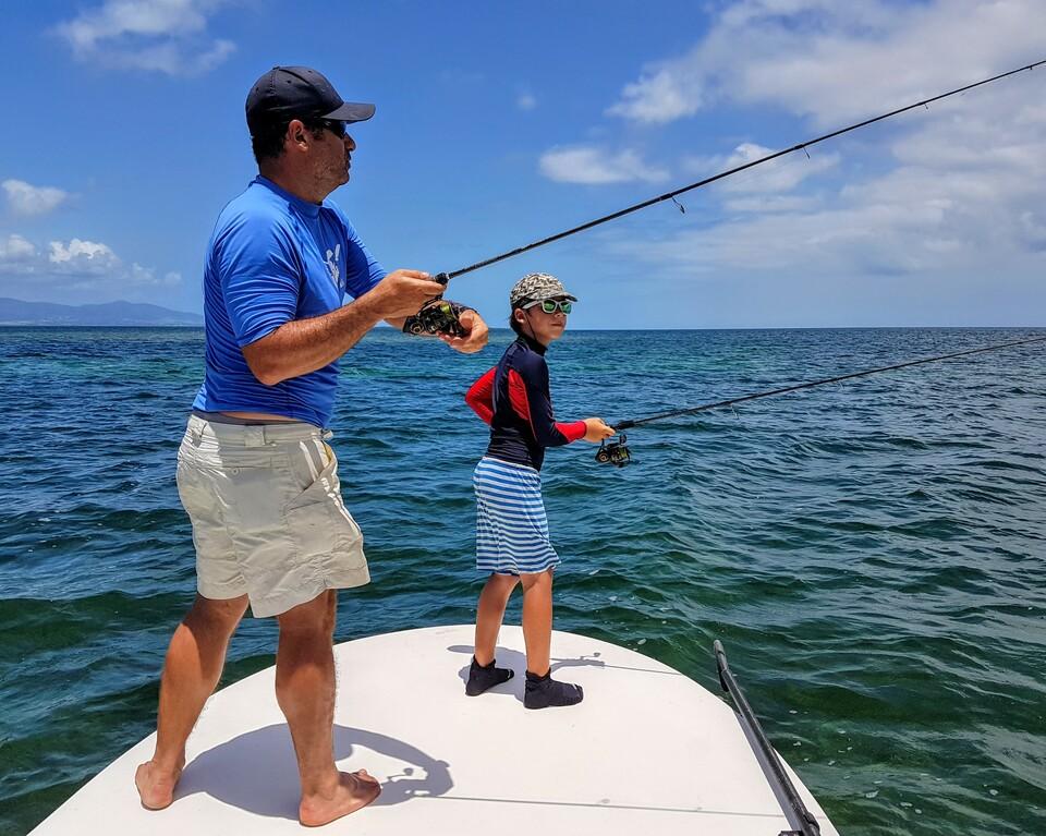 Il n'y a pas d'âge pour pêcher.