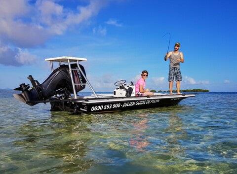 Pêche en skiff Guadeloupe