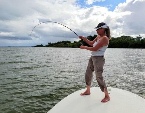 Pêche féminine