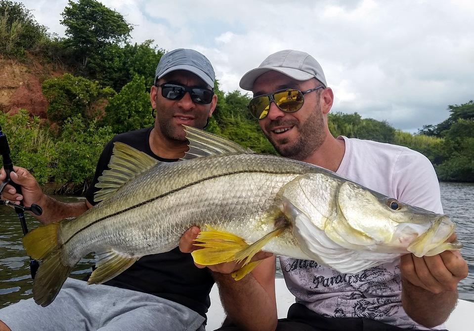 pêche du snook en guadeloupe